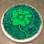 St. Paddy's Day 2012 Cake