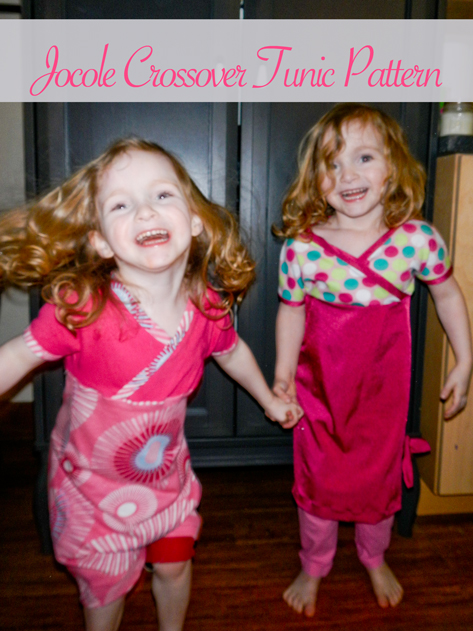 toddler sewing pattern PDF easy dress Jocole