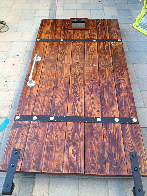 DIY Barn Door From Simple 26s