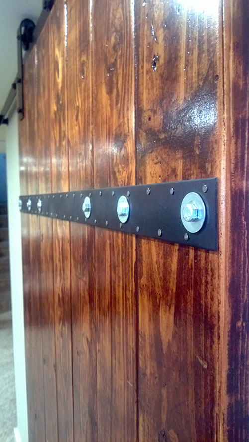 Diy Barn Door From Simple 2 6 S