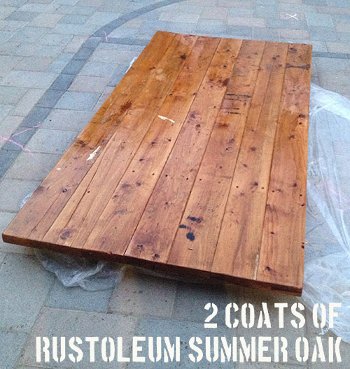 diy barn door rustoleum summer oak