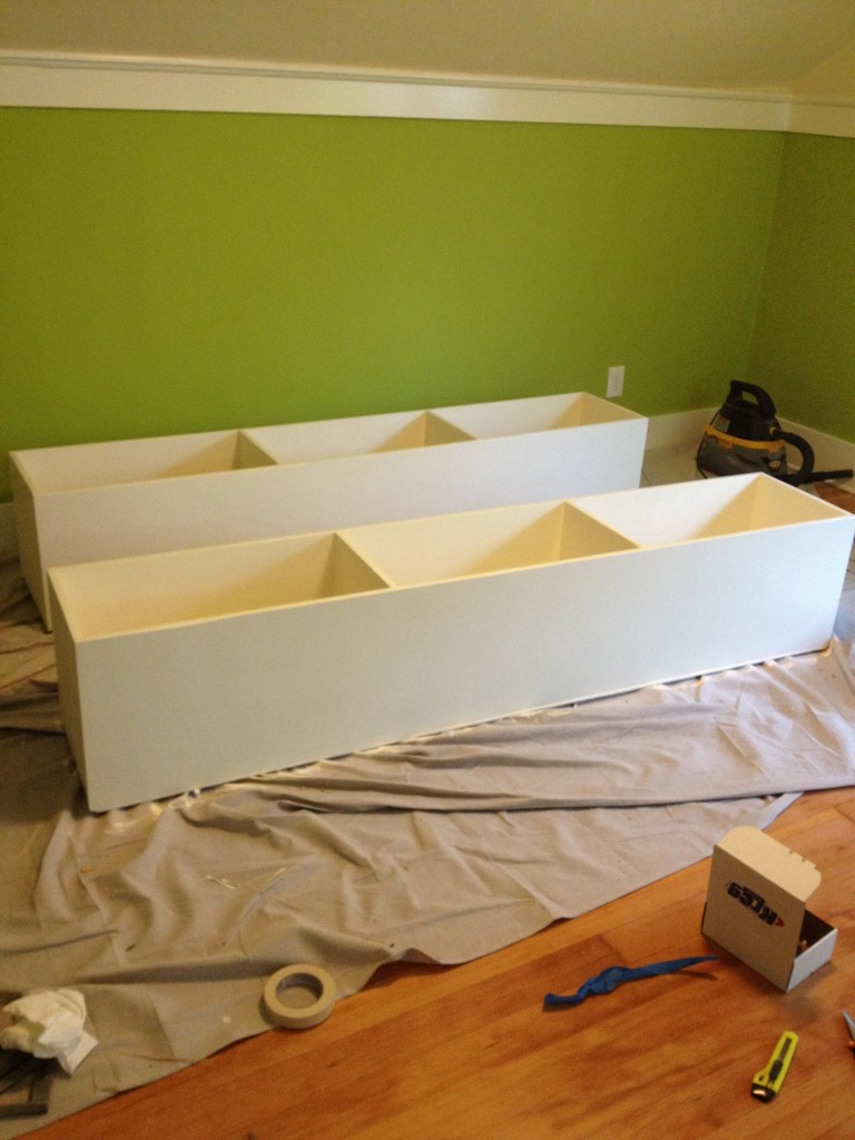 Under Bed Storage boxes done!
