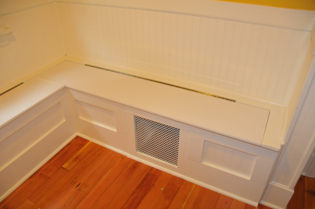 Kitchen Storage Bench Seat Plans Quick Woodworking Projects