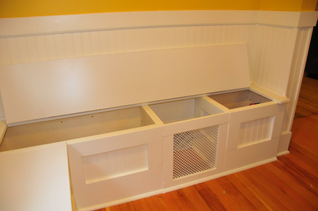 Diy Custom Kitchen Nook Storage Benches Ferris Built
