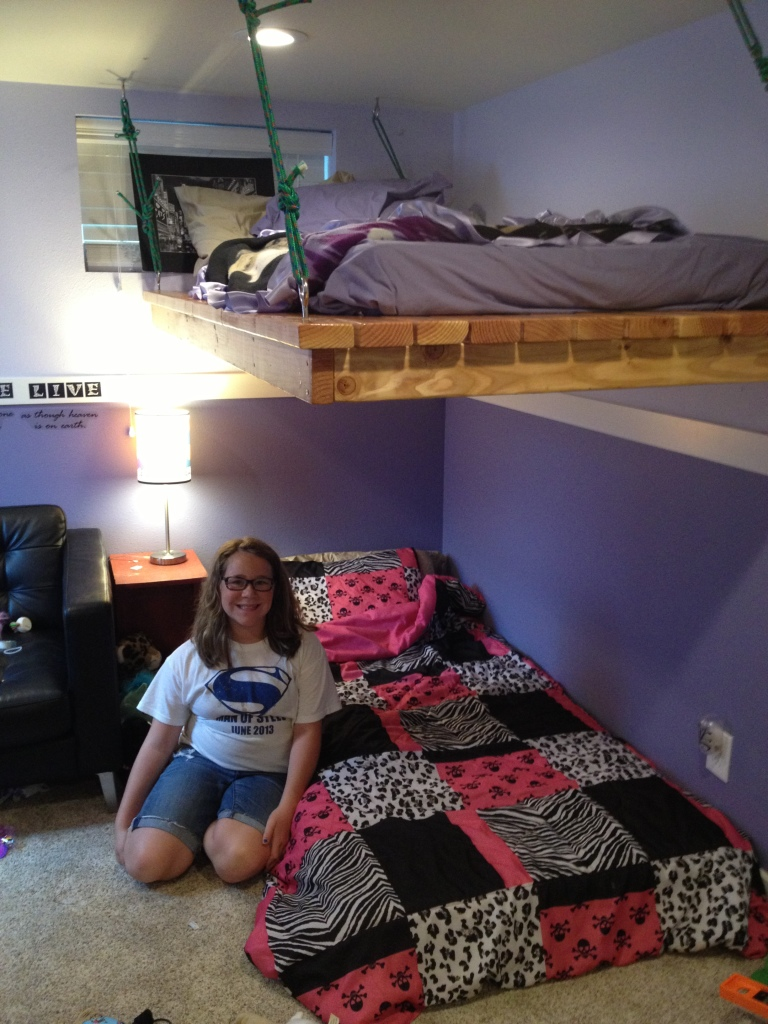Hanging bed with 2x4 lumber ana white daybed